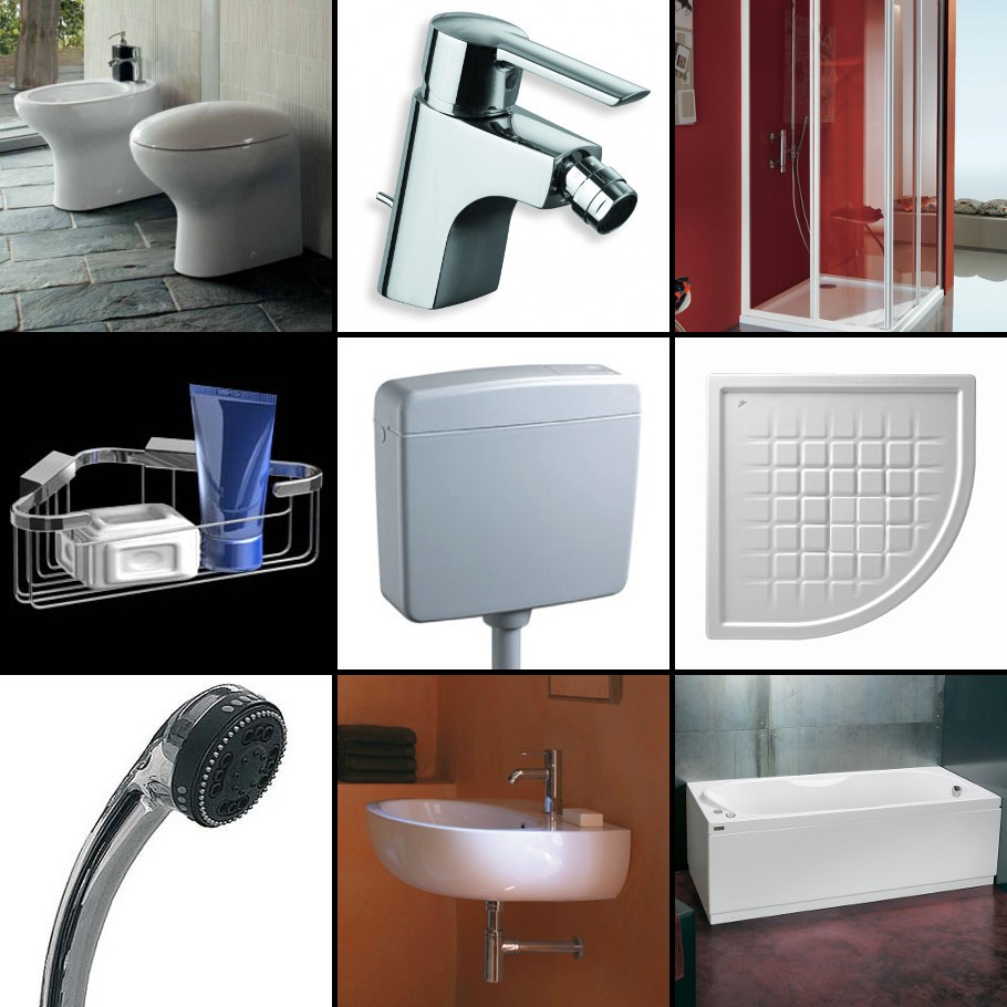 SANITARIMobili da bagno, sanitari, rubinetteria varia e per ...