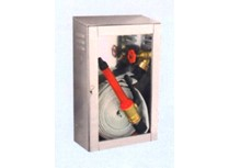 idrante a muro  20 ml. da esterno inox uni 45 ce - cassetta 610x