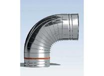 curva a 90° joint inox monoparete
