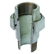bocchettoni in ghisa sede conica m/f zincati fig. 341