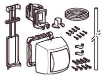 comandi pneumatici per cassetta da esterno