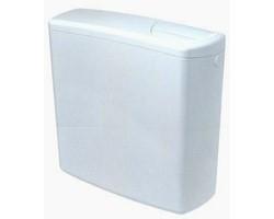 Cassetta esterna twico doppio tasto con tubo 9 lt bianco for Cassetta geberit esterna prezzo
