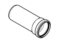 tubo pp innesto 1 bicchiere<br>&nbsp;