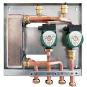 sistema di collegamento idraulico e scambio termico kidro raccor