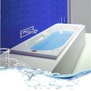 vasca in resina modello aira con base e pannelli frontali e late