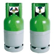 bombola vuota ricaricabile gas 10k g - 2 rubinetti