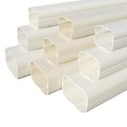 canalina in pvc per tubo split newline