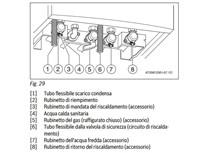 piastra di collegamento orizzontale + raccordi per cerapurc comp