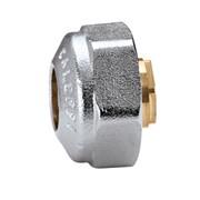 raccordo meccanico cromato per tubo rame tenuta o-ring