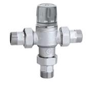 miscelatore termostatico regolabile con manopola, per installazi