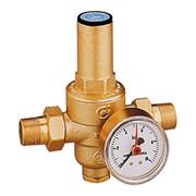 riduttore di pressione con manometro pressione  0÷10 bar ø 1