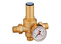 riduttore di pressione con manometro pressione  0÷10 bar