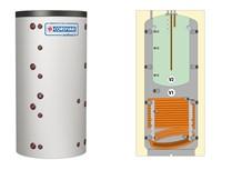 termoaccumulatore combi2 per acqua di riscaldamento con accumulo