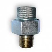 giunto dielettrico in acciaio galvanico/ottone m/f