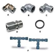 guarnizioni alluminio per flessibili da gas ø 1/2