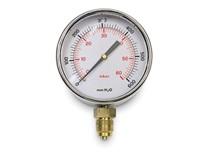 manometro gas radiale bassa pressione � 80 mm - attacco � 3/8