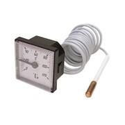 termomometro da incasso con capillare 0°-120° c - 1500 mm ø est.