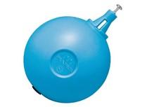 sfera plastica zavorrata con scorrevole globus ø 150 mm
