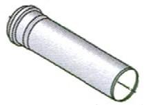 prolunga in polipropilene ø 80 mf per caldaie a condensazione