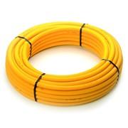 tubo multistrato per gas corrugato giallo