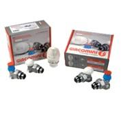 kit riqualificazione energetica radiatore composto da valvola te