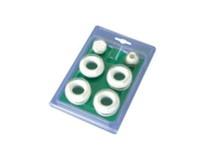 kit riduzioni con guarnizioni in silicone bianco
