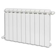 radiatore klass in alluminio cert en ab 46100 verniciato bianco