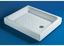 piatti doccia quadrati e rettangolari bianco europeo