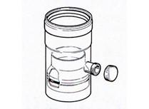 kit raccogli condensa - ø 80 mm - bianco ral 9010