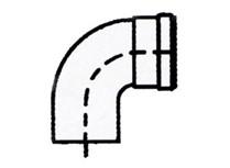 kit curve a 90° per caldaie a condensazione - ø 80 mm