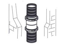 kit adattatore flessibile/flessibile