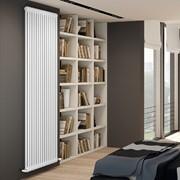 radiatore tubolare in acciaio tesi 2 colonne ral 9010