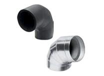curva isolante preformata rivestita alluminio - spessore 19 mm.