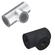 te isolante rivestita in alluminio spessore 19 mm.