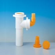 tubo in pp per lavastoviglie e lavatrici ø 40 mm bianco