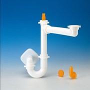 sifone spazio 1 per lavello con scarico ø 40 mm bianco