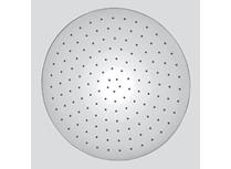 soffione tondo in acciaio inox 18/10 ø 200 mm getto a pioggia si