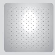 soffione in acciaio inox 18/10 200x200 mm getto a pioggia sistem
