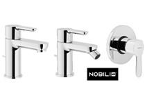 Serie rubinetteria marca Nobili serie ABC