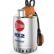 pompa sommergibile per drenaggio acque chiare rxm2 - 0,37 kw 220
