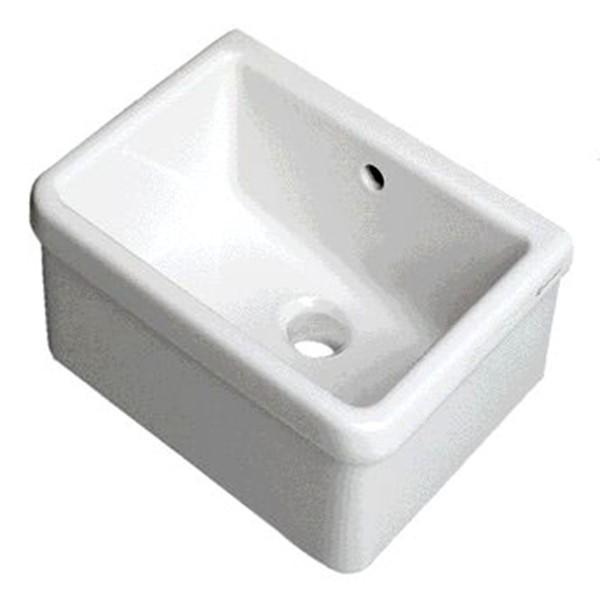Ceramica Pozzi Ginori Prezzi.Pilozzo Cm 50x40 Serie Ruscello Bianco Pozzi Ginori 60445000