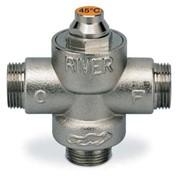 valvola deviatrice termostatica a 3 vie con taratura fissa a 40°