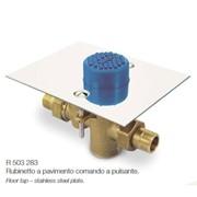 rubinetto a pulsante da incasso per installazione a pavimento ø