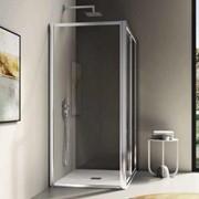 parete fissa per abbinamenti è possibile formare cabine doccia a