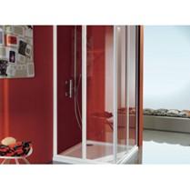 Box doccia marca SAMO modello CIAO ad angolo a 4 ante di cui 2 s