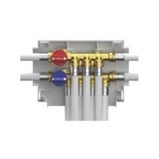 k4.2 collettore mono-intercettazione 5 uscite acqua fredda + 4 u
