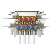 k4.2 collettore multi-intercettazione 5 uscite acqua fredda + 4