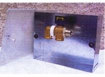cassetta da incasso per collettore gas
