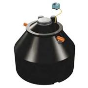 unita' di depurazione a fanghi attivi in pe reciclabile per il t