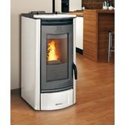 stufa a pellet thermocomfort easy 5000 colore grigio
